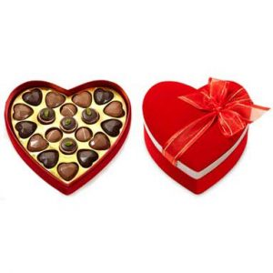 Heart Shaped Valentine Chocolates